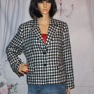 Sag Harbor Blazer Lightweight Jacket Size 10